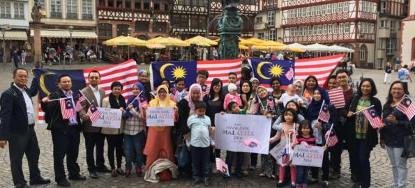 #AnakAnak Malaysia Walk 2016 in Frankfurt