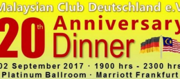 MCD 20th Anniversary Celebration – 2 September 2017 – Marriott Frankfurt