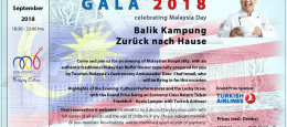 Save the Date: It's Our Gala 2018 !!